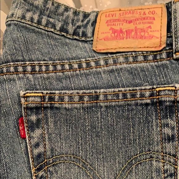 Levi's Denim - Women's Levi's 9 L super low boot cut